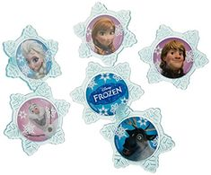 A Birthday Place Disney's Frozen 12 Count Cupcake Rings, Assorted