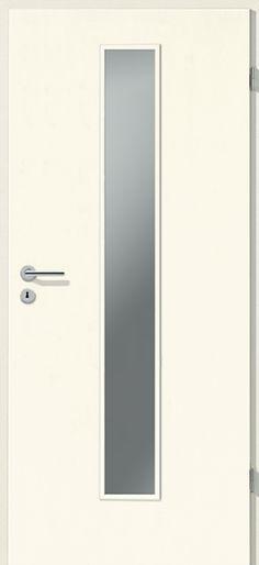 Porte int rieure contemporaine westaline type 2510 for Vitrage pour porte interieure