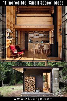 11 Incredible ideas for small spaces. Discover the art of living in a small space. These small living ideas will inspire and give you some great home ideas for small spaces. Small Space Living, Art Of Living, Small Spaces, Outdoor Furniture Sets, Outdoor Decor, Big Houses, Tiny House, The Incredibles, Inspire
