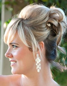 Updo Curly Hairstyle