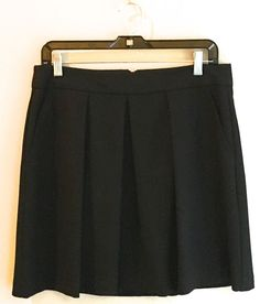 Trina Turk pleated skirt, Black, Size 8, Free Shipping  | eBay