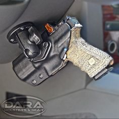 Have an optic on your firearm like the @trijicon #RMR? No problem! Our RMR Cut Ram Mounted Vehicle Holsters can accommodate any red dot.   Patented Design Daraholsters.com