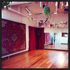 The sweetest dance studio ever <3 Datura - Portland Rachel Brice