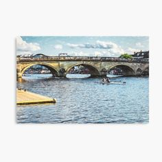 Framed Prints, Canvas Prints, Art Prints, Henley On Thames, My Canvas, Bridges, Art Boards, My Arts, Racing