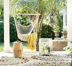 These amazingly cheap finds are just what your backyard needs for a refresh! Find the perfect outdoor throw pillows, hanging lights, canopy umbrella, planters and welcome mats for under $50!
