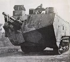 Four Combat Monsters – The Super-Heavy Tanks Of WWI
