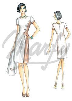 Sewing pattern DressSewing Pattern 3339