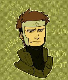 "mars-jorie: ""Whenever I draw Yamato he's always annoyed and I don't know why. Kakashi, Anime Naruto, Naruto Shippuden, Boruto, Sasunaru, Naruto Phone Wallpaper, Naruto Characters, Fictional Characters, Naruto Funny"