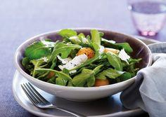 Cantaloupe-Arugula Salad