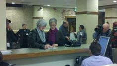 Gay couples line up for marriage licenses - Spokesman.com - Dec. 6, 2012