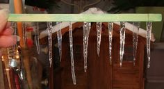 how to make icicles