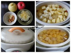 简易瘦身食谱: 苹果雪梨炖雪耳,一款女人必喝的养颜瘦身糖水。