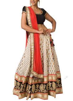 Stunning Chanderi Lehenga Set by Neha Gursahani | Indian Designer | Lehengas