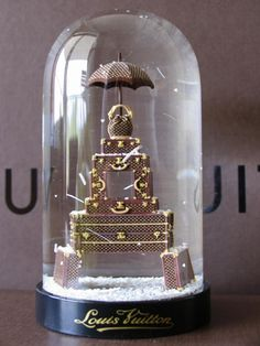 Louis Vuitton anniversary snow globe...where can I find this??  #MRSBITTERCHEF (Pinners)