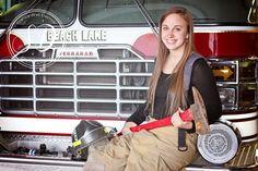 Senior Portrait ~ Volunteer Firefighter by Samantha Derrick Facebook.com/samanthaderrickphotography