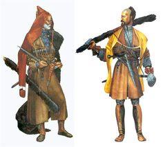 Caucasian warriors period Russian conquest of the Caucasus.
