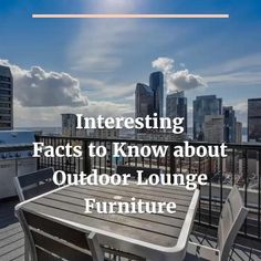 Outdoor lounge furniture is the furniture piece specially designed to use in the outdoors. It is a furniture piece which adds the extra seating to your patio and is a great decorative piece. Also, it is mainly made of the weather-resistant materials to prevent any damage from the weather. Round Dining Table, Dining Set, Soho Lounge, Outdoor Living Furniture, Extra Seating, Online Furniture, Fun Facts, Castle, Deck