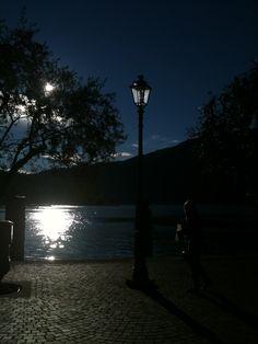 Notte a Riva del garda