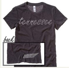 Tennessee Washed Home State T Shirt. http://washedtee.com/shop/womens/t-shirts-tanks/washed-favorite-t-shirt/