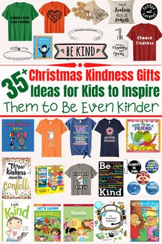 Put a big smile on your kids face and have them a merrier Christmas this year.Shop from this list of gift ideas right now and get your Christmas shopping done. Choose any of these 35+ Kindness Gifts for Kids to Inspire Them to Be Even Kinder. #kindnessgiftideas #giftofkindness #giftideas #giftguide #kindnessgifts #bekind #kindness #kindnessgiftsforkids #giftsforkids #christmasgiftideas #christmasgifts #christmasgiftsforkids #girlscoutchristmasgifts #christmasgiftguide #Christmaskindnessgift