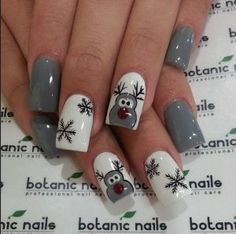 xmas-nuxia-me-rudolf Ideas for Christmas nails