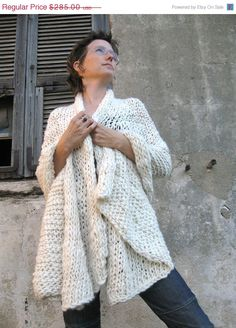 Comfy shawl for the late nights with baby.