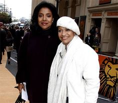 with Phylicia-Rashad. think was in London 2 years ago when 'Cat on a hot tin roof opened.