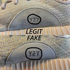 Adidas Yeezy 350 Moonrock Real Vs Fake