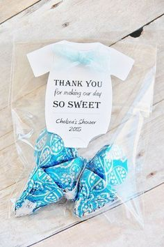 Baby Shower, Thank you Card