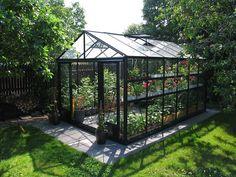 Växthus Maxi 4 Paket, 14,1 m², lackerat
