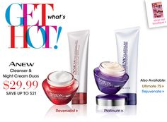 Great sale! Don't get wrinkles! http://www.youravon.com/trishadunn $29.99
