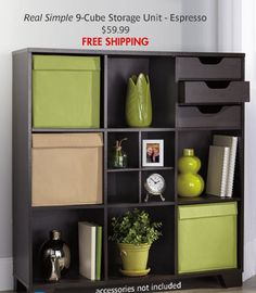 20 Storage Cube Black Way Basics Media Pinterest