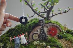 Hobbit House Miniature Garden   Craftsy