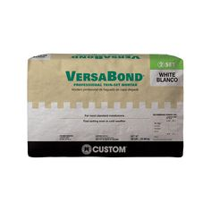 Custom Building Products VersaBond White 50 lbs. Fortified Thinset Mortar-MTSW50 - The Home Depot