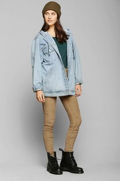 BDG Corduroy Pull-On Skinny Pant #urbanoutfitters