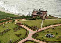 VUDA PARK  Vuda Park alias Taraka Rama Rao, located near Rama Krishna Beach is one of the most attractive leisure spot in Visakhapatnam. The park, named after the former Chief Minister of Andhra Pradesh Sri. N.T.Rama Rao has boating & swimming facilities, two roller skating rink, camel & horse riding, artificial caves, beautiful long lawns, flower gardens and a children park. The play pen in the park has 3000 plastic balls and boxing bags.