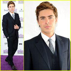 DREAMY Zac Efron - Spirit Awards 2012 Red Carpet