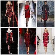 FW 13-14 Trend: Black & Red