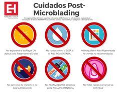 Los cuidados Post- Microblading que debes seguir. School Parties, Eyebrows, Poster, Makeup, Chula, Tips, Maya, Eyebrow, Microblading Eyebrows