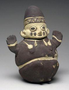 Pre-Columbian Chancay Pottery China : Lot 288