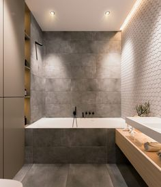 53 modern bathroom decor ideas match with your home design style page 42 Contemporary Bathroom Designs, Modern Bathroom Decor, Contemporary Apartment, Bathroom Interior Design, Small Bathroom, Bathroom Ideas, Bathroom Scales, Modern Bathrooms, Bathroom Mirrors