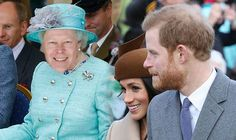 Prince Harry's most shocking present for Queen REVEALED as Meghan Markle joins festivities Princess Meghan, Princess Anne, Princess Margaret, Meghan Markle Prince Harry, Prince Harry And Meghan, Suits Actress, Royal Christmas, Young Prince, British Royal Families