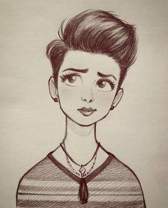 Hair flow » art » drawing » inspiration » illustration » artsy » sketch » pinterest » design » expression » faces »