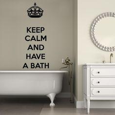 Adesivi da parete Keep Calm and have a Bath Wall Sticker Adesivo da Muro https://www.adesiviamo.it/prodotto/1267/Adesivi-da-parete/Adesivi-da-parete/Keep-Calm-and-have-a-Bath-Wall-Sticker-Adesivo-da-Muro.html