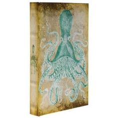 Octopus Lined Book Box