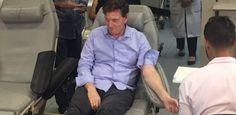 """Crivella doa sangue no Rio e fala em """"acerto de contas"""" com planos de saúde"""