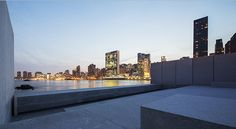 Four Freedoms Park, obra póstuma de Louis Kahn en Nueva York