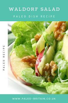 Waldorf Salad  #Paleo #food #recipe #keto #diet #WaldorfSalad