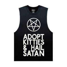 Adopt kitties & hail satan shredder