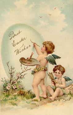 Vintage Easter greeting...